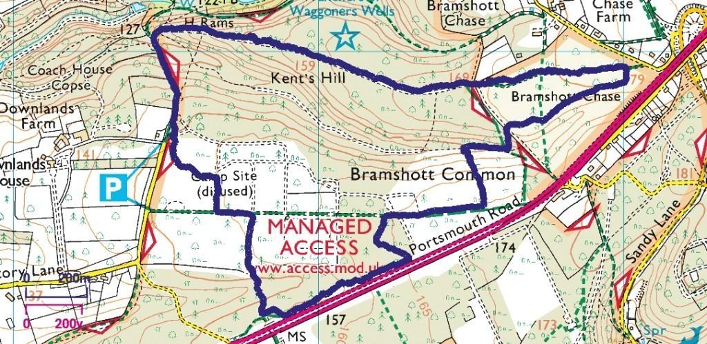 Bramshott walk (long)
